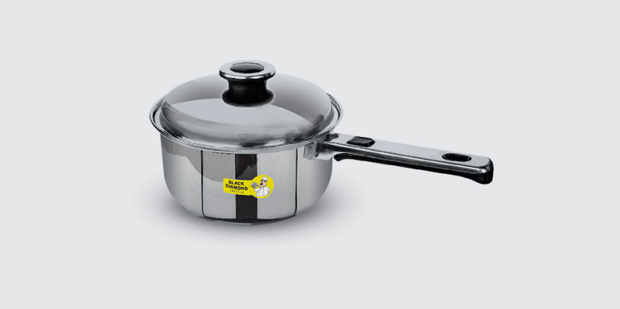SS DELUXE SAUCE PANS